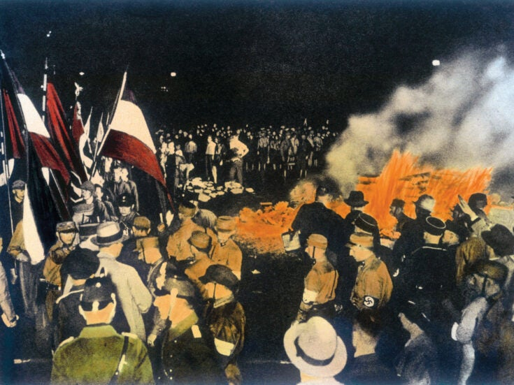 The history of book burning