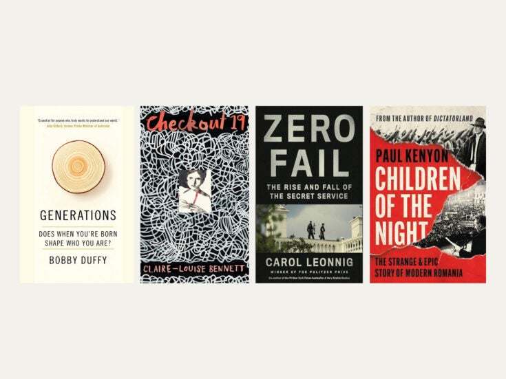 Reviewed in short: New books by Bobby Duffy, Paul Kenyon, Carol Leonnig and Claire-Louise Bennett