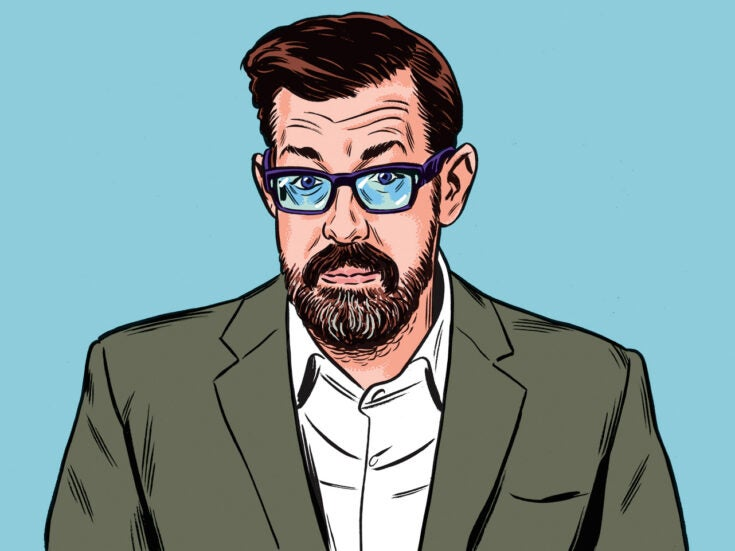 """Richard Osman Q&A: """"Do any New Statesman readers have a spare right knee?"""""""