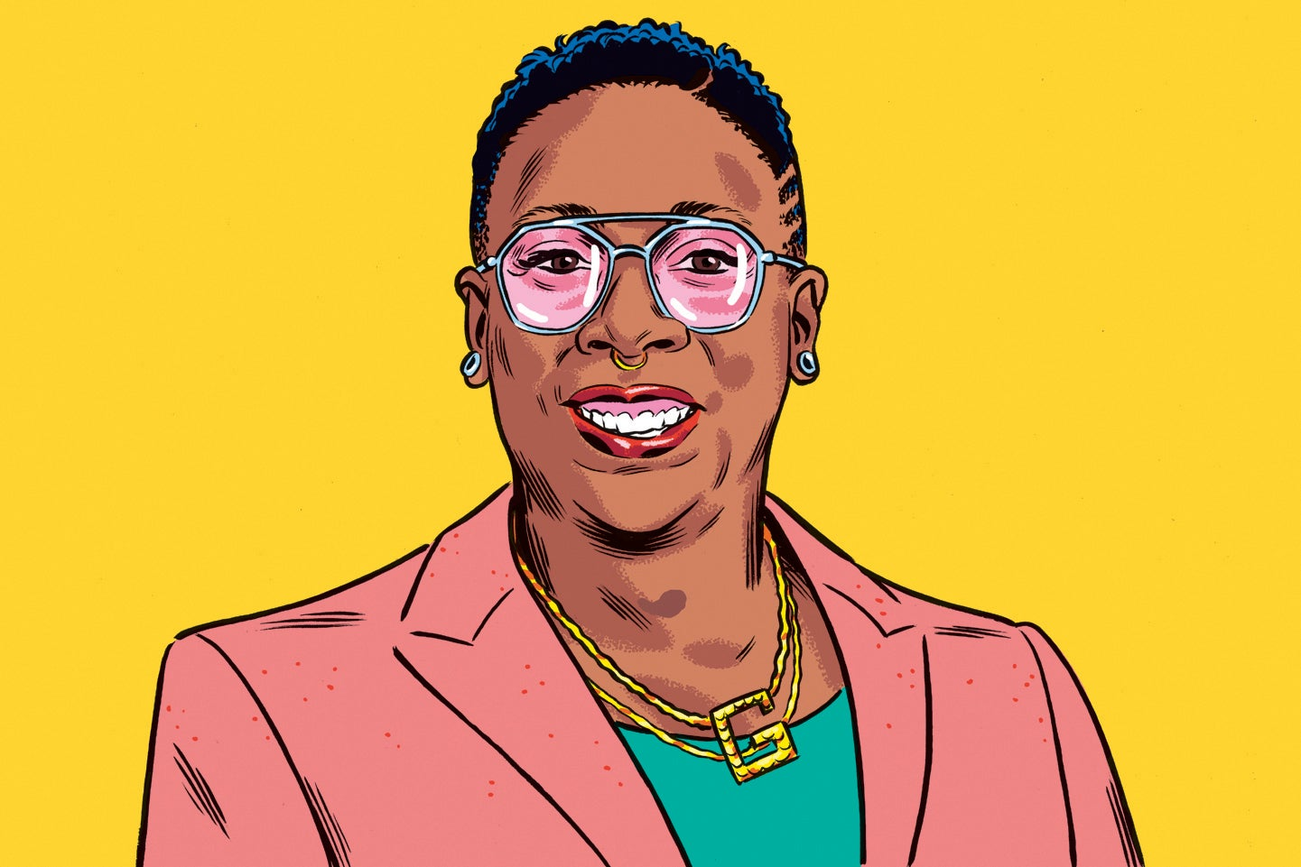 """Gina Yashere's Q&A: """"This planet needs a good shakedown. Wipe it out, start again, Etch A Sketch-style"""""""