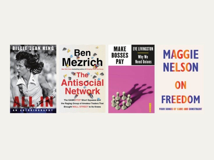 Reviewed in short: New books by Ben Mezrich, Eve Livingston, Billie Jean King and Maggie Nelson