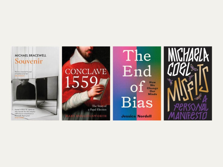 Reviewed in short: New books by Mary Hollingsworth, Jessica Nordell, Michaela Coel and Michael Bracewell