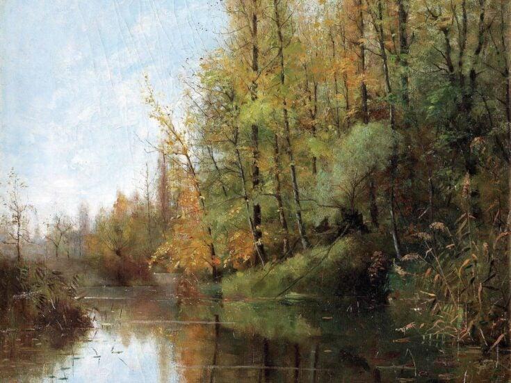 The aqueous scenes of Julia Beck