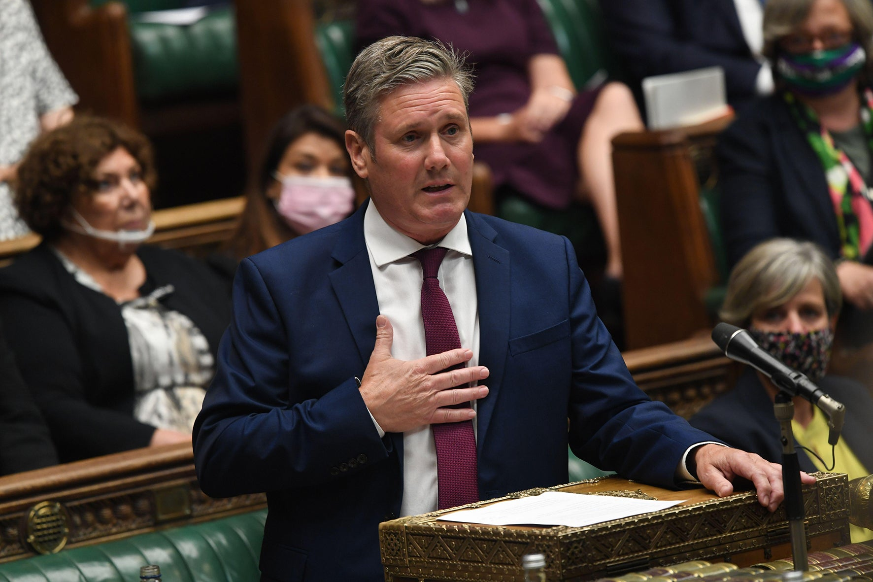 Keir Starmer needs to be clear about who his project's enemies are