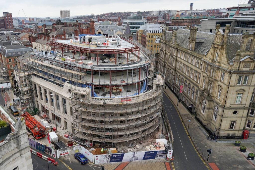 The Majestic, the new proposed site for Channel 4