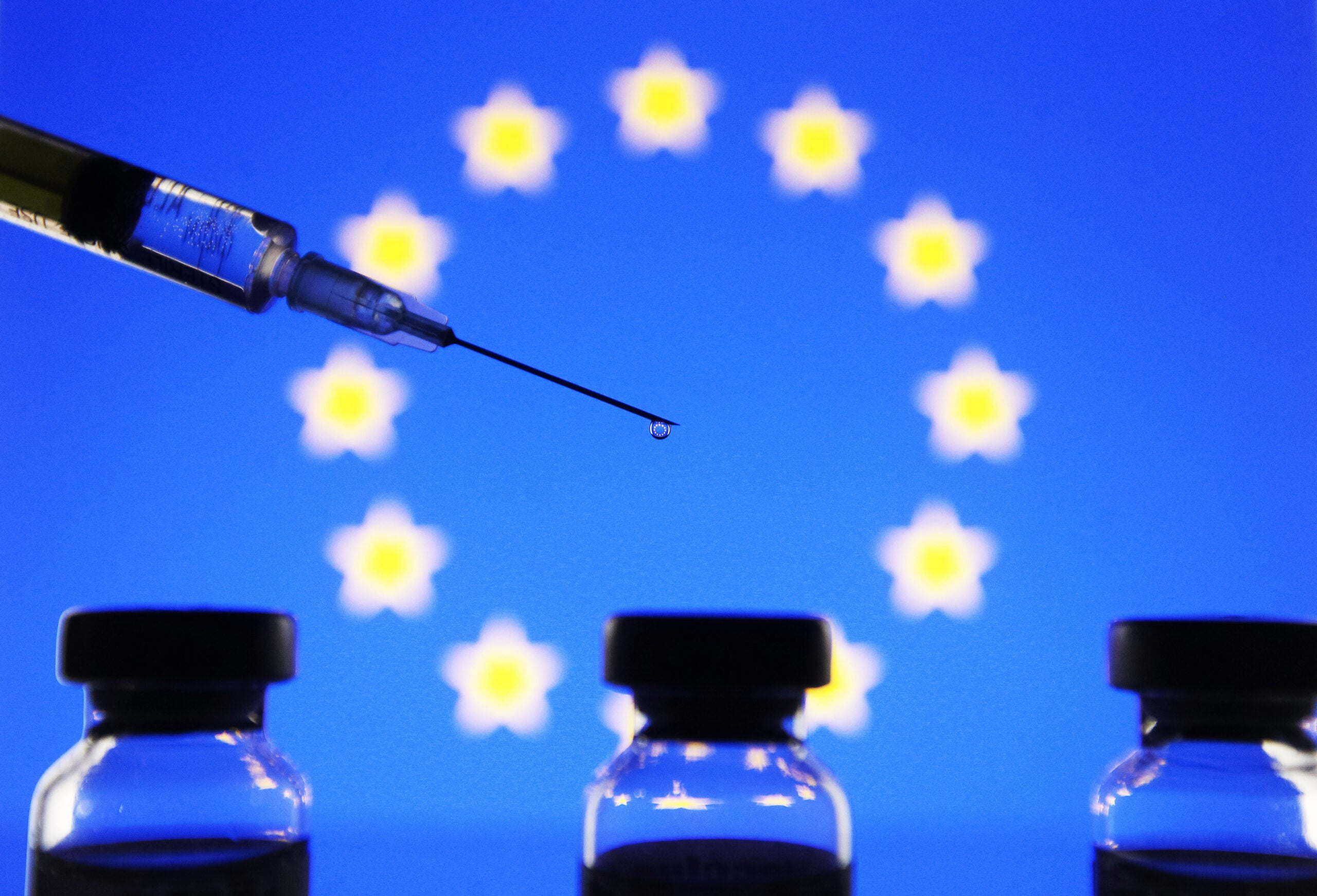 How the UK has been overtaken by other European countries on Covid-19 vaccines