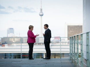 What does France want from the 2021 German election?
