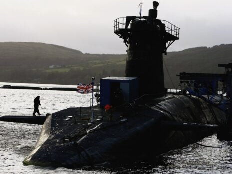 Who benefits from the story that Trident may be moved out of Scotland?