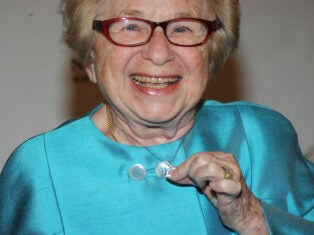 From the NS archive: The Dr Ruth Good Sex Show