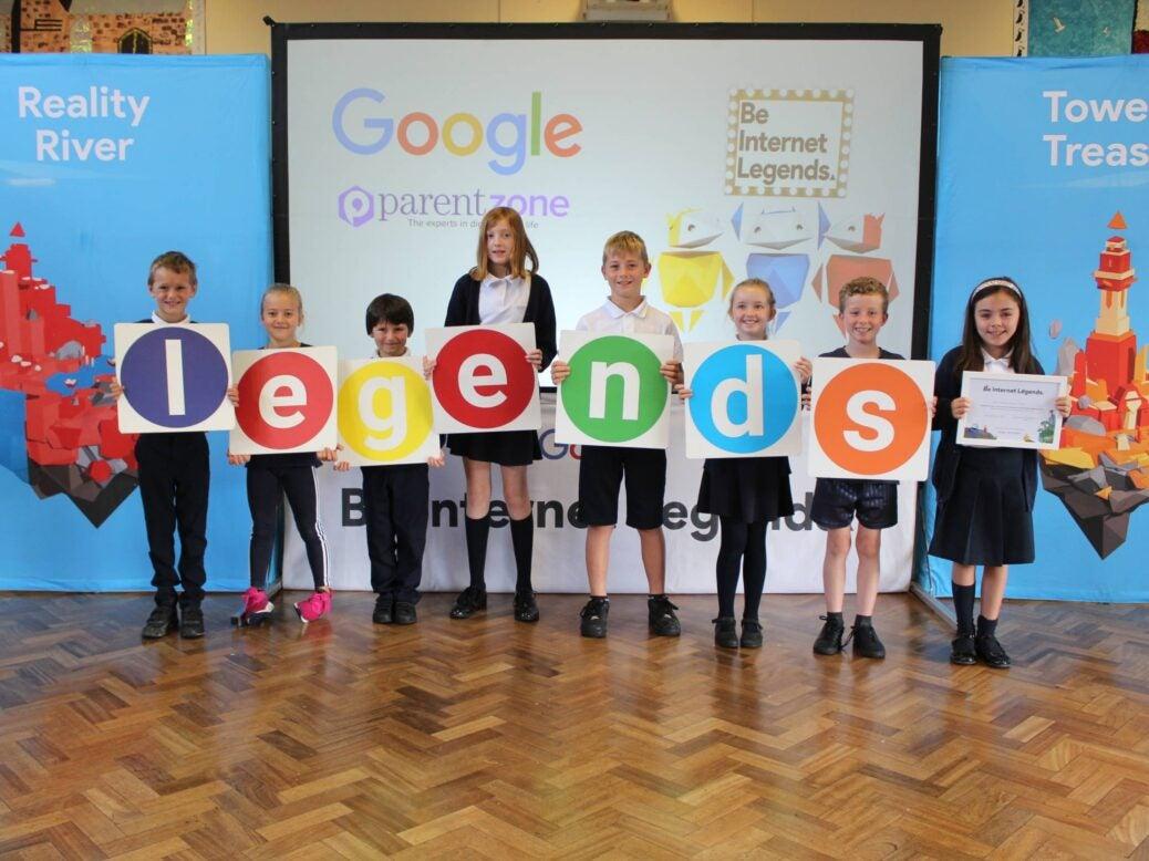 Be Internet Legends Google and Parent Zone partnership