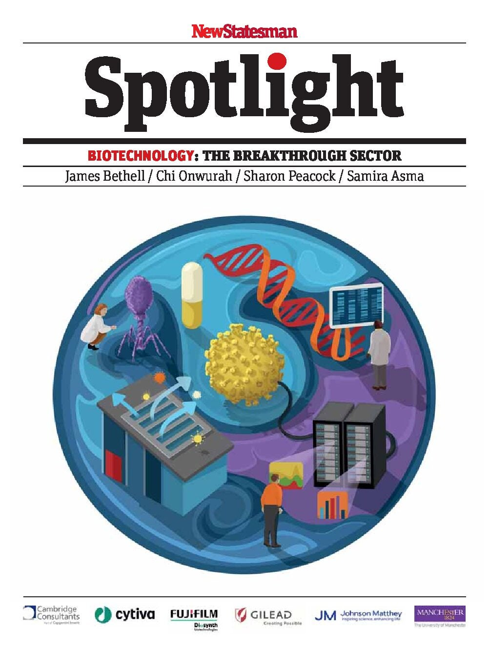Biotechnology: The breakthrough sector