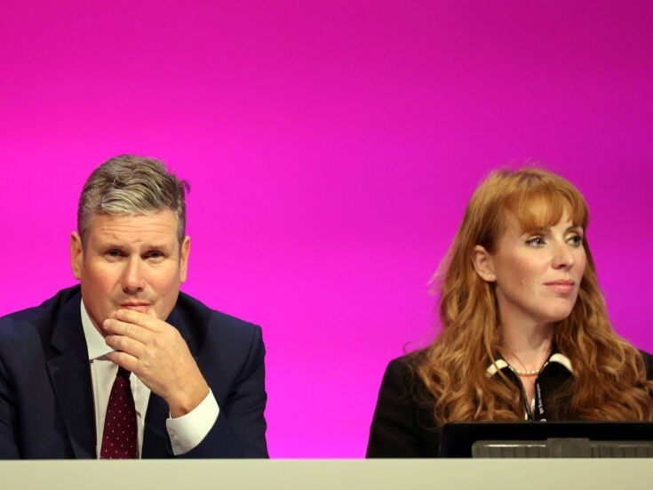 """Angela Rayner is told to apologise for calling Tories """"scum"""" as Labour row deepens"""