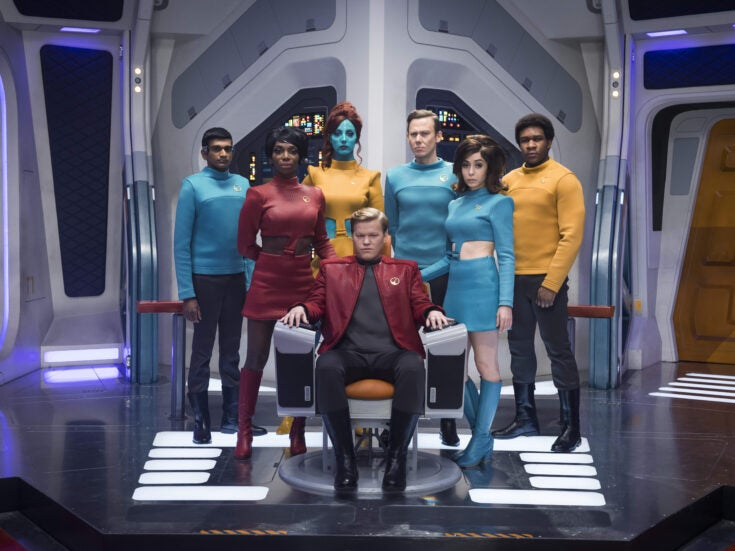 """Charlie Brooker: """"Everything's gone a bit Black Mirror – but it's free publicity for us"""""""