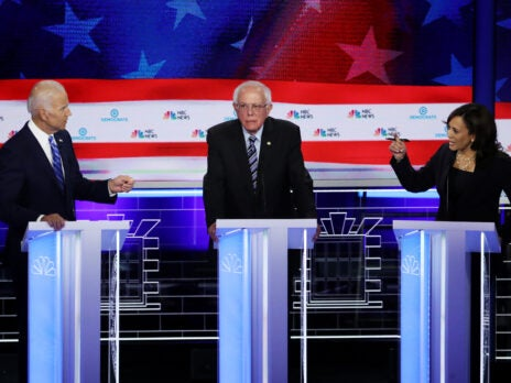 In the second Democratic debate, everyone else was an actor in Kamala Harris's show