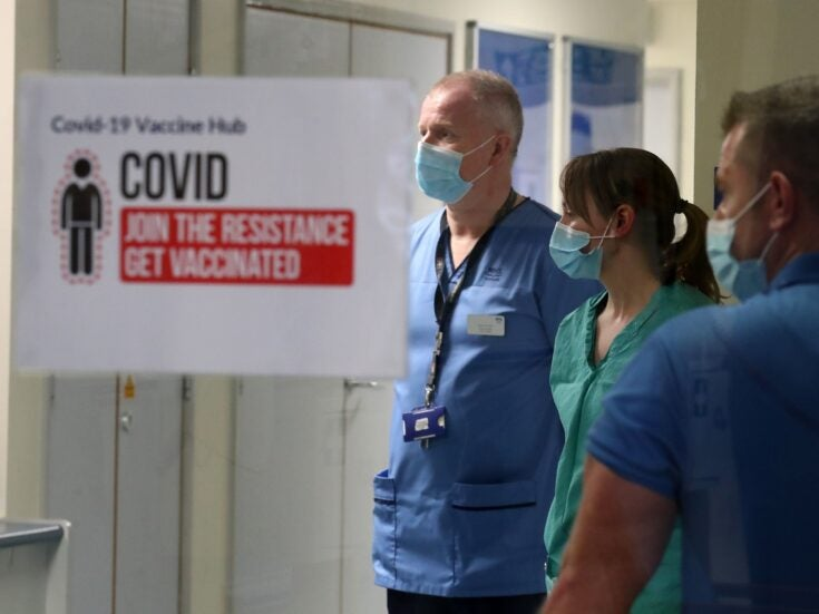 """""""We are replaceable"""": The migrant NHS staff left behind during the pandemic"""