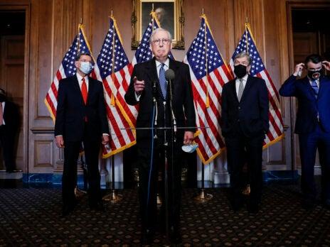 Republican senators have finally congratulated Joe Biden – but it's too little, too late