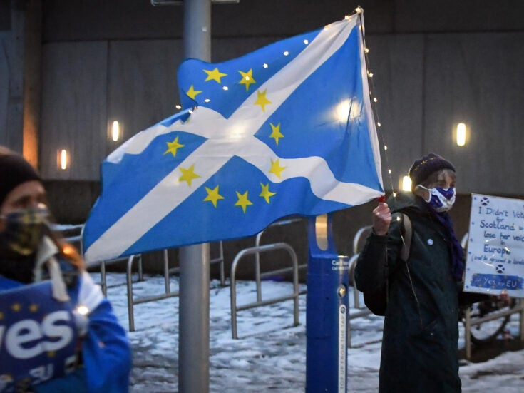 How Scotland is becoming newly polarised over the Europe question