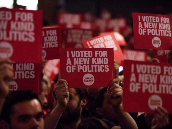 The hard left is now operating within the Labour Party, but it doesn't reflect our values