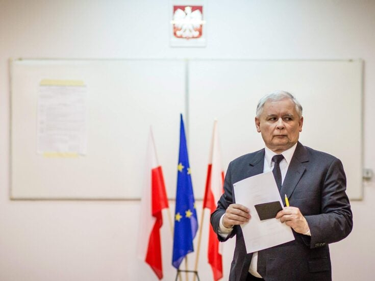 The Polish government is seeking $1trn in war reparations from Germany