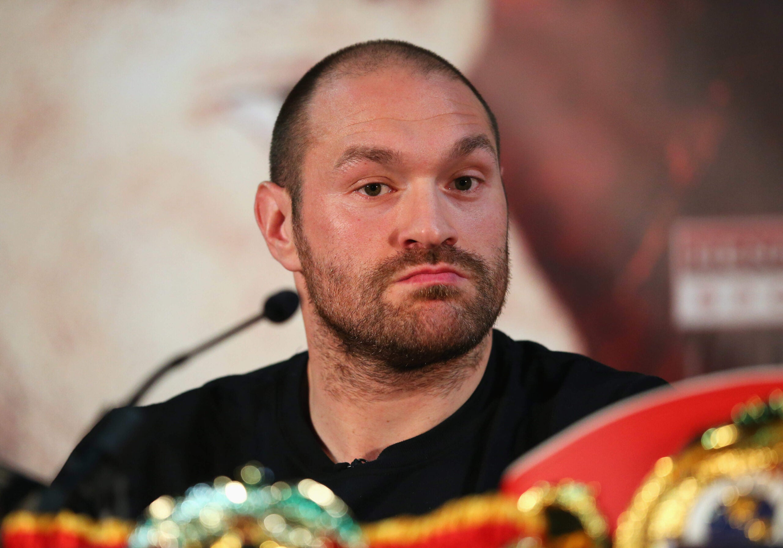 What's eating Tyson Fury?