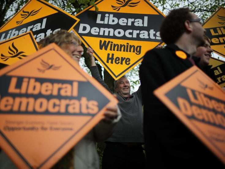 """Week Two: """"The Liberal Democrats are getting squeezed"""""""