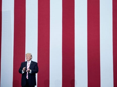 Will Donald Trump start jailing people for disrespecting the American flag?