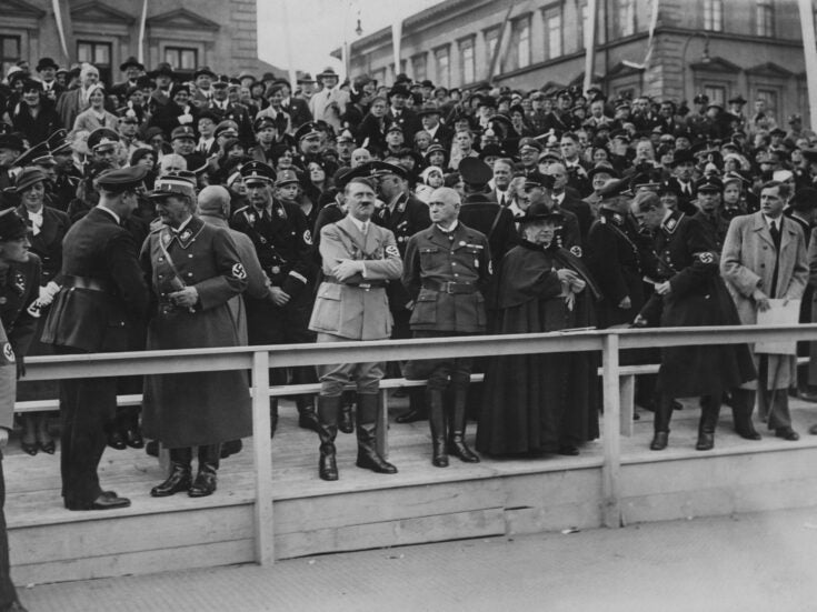 From the NS archive: Hitlerism analysed