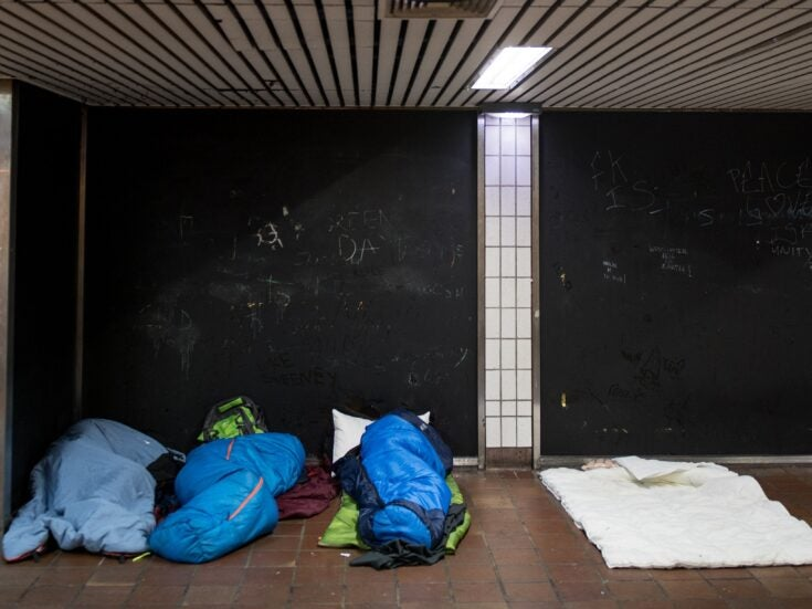Why is the government allowing rough sleeping in the UK to rise again?