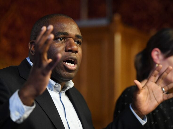 """David Lammy's speech to the Commons: """"Britain did not become 'Great' in total isolation"""""""