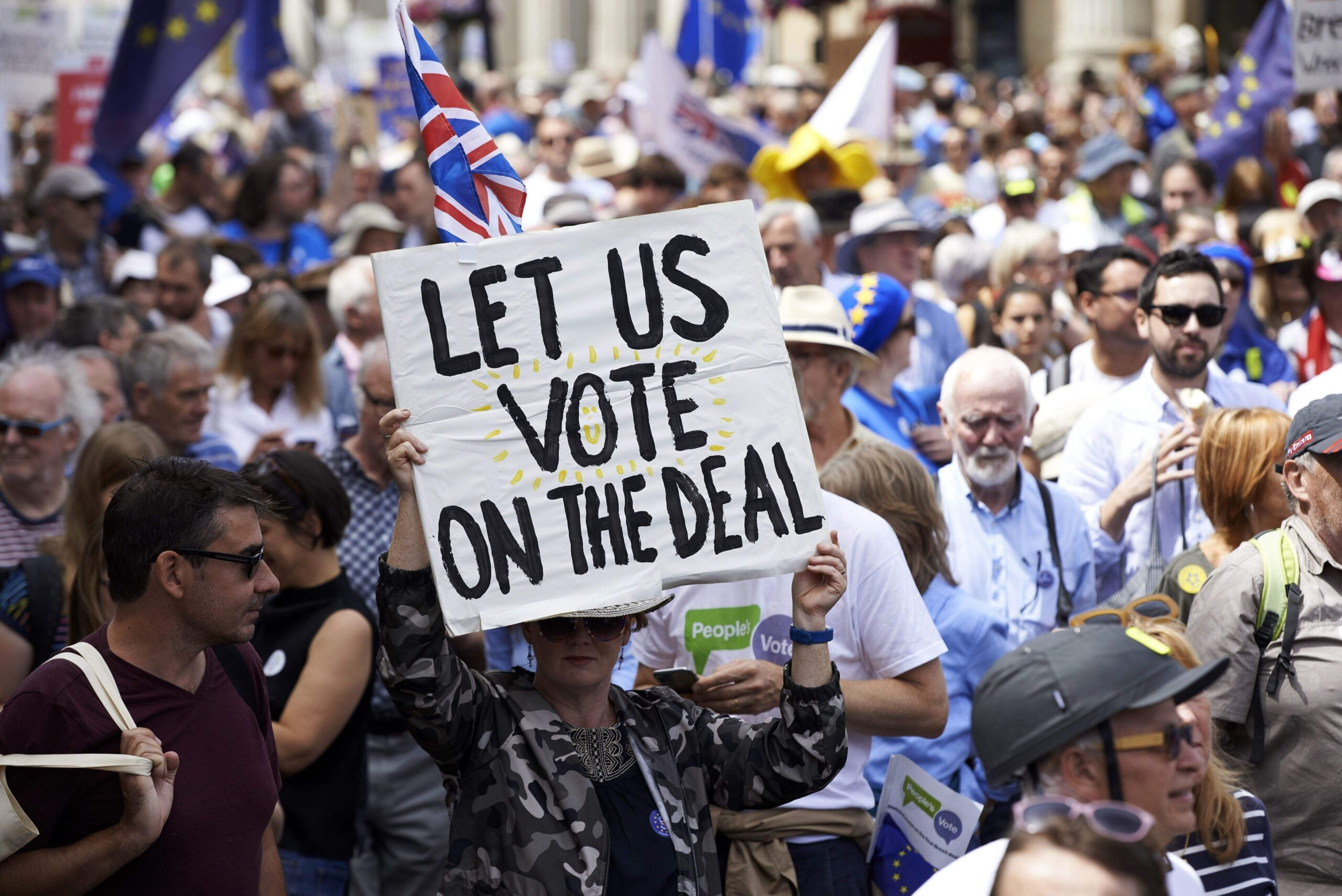 Get heard on the People's Vote march – but remember those who were only heard once