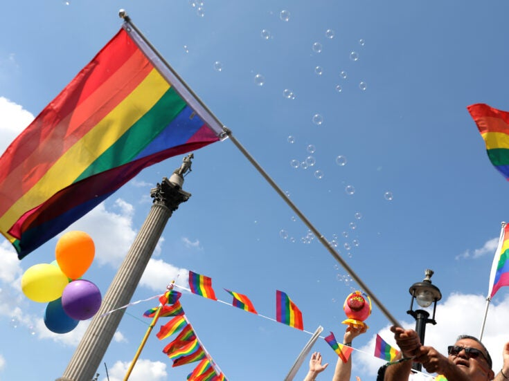 The Travellers making history at Pride