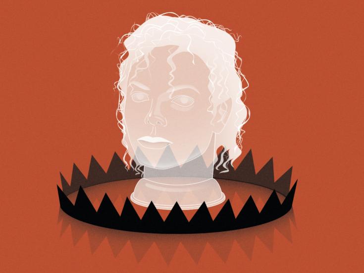 Michael Jackson's hollow crown