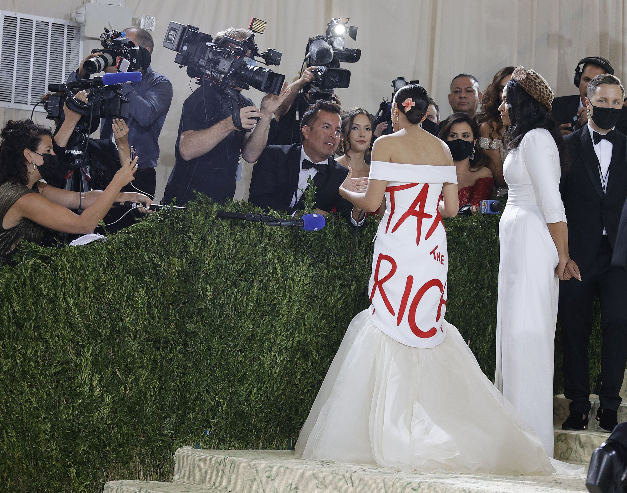 Alexandria Ocasio-Cortez's Met Gala gown won't change the system
