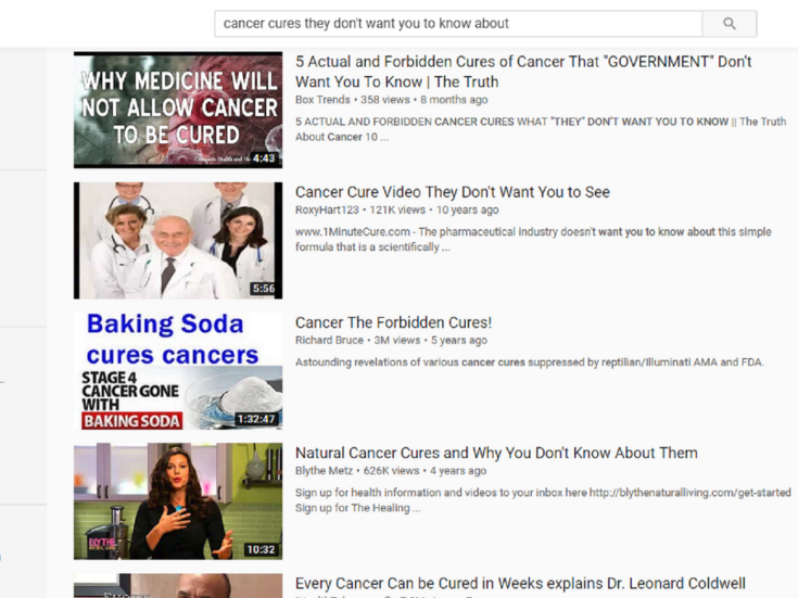 Carrot juice to cure stage four cancer: the dangerous world of YouTube home remedies