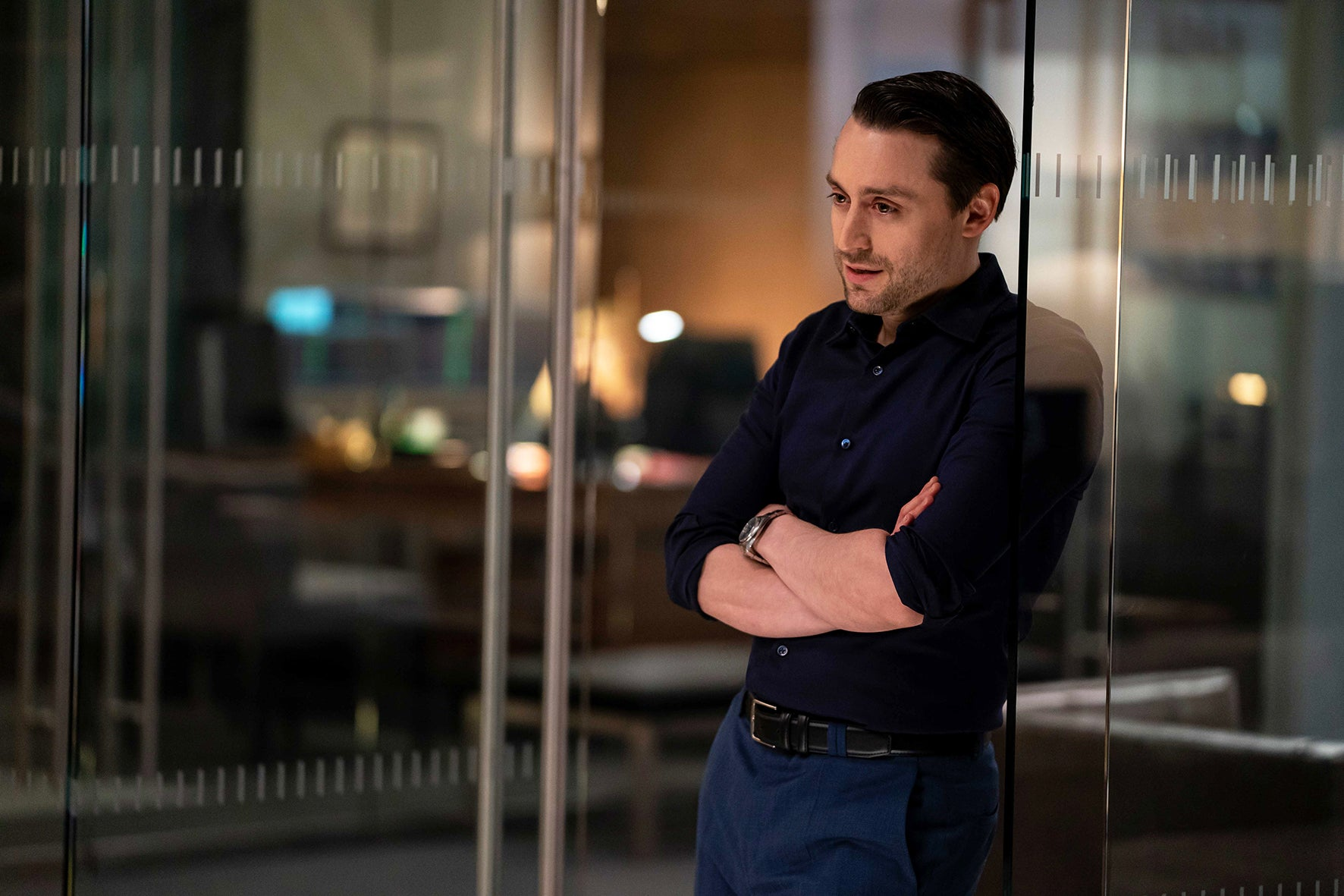 How Succession's Roman Roy became the most compelling – and grotesque – character on TV