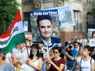 In Hungary, a united opposition faces an unhinged, Orbán-friendly smear campaign