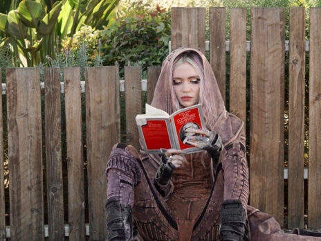Grimes, the Communist Manifesto and the literary celebrity photoshoot
