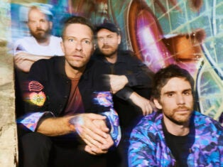 Coldplay's ninth album is space-themed, but they're better off staying closer to Earth
