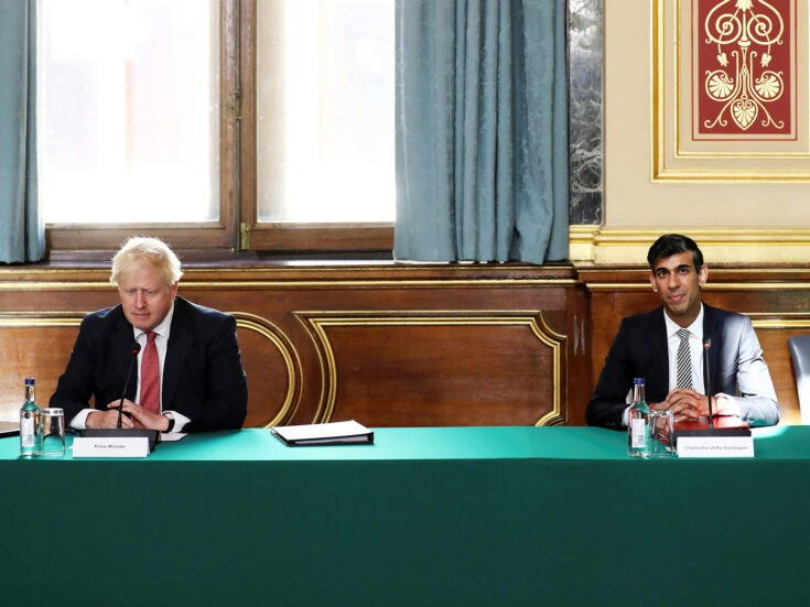 The gulf between Boris Johnson and Rishi Sunak should worry the Tories