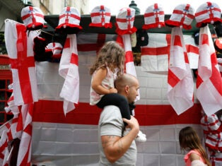 From the NS archive: Raise St George's standard high