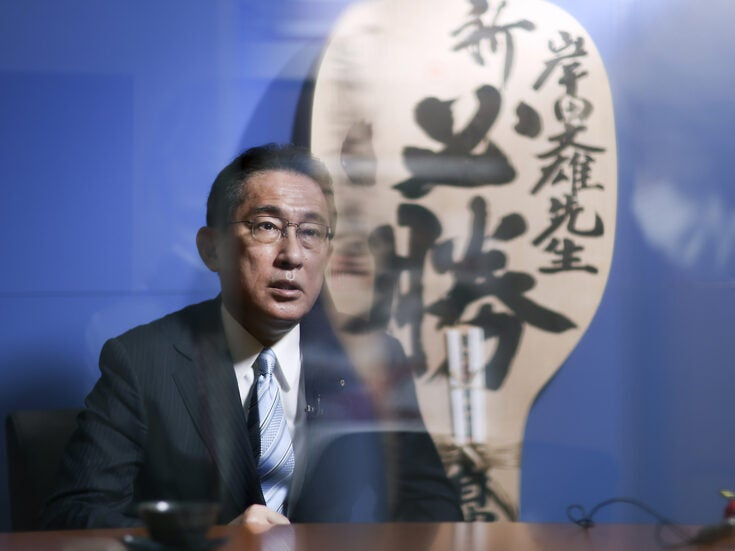 Fumio Kishida: Why Japan's new prime minister has his work cut out