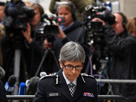 How can Cressida Dick keep her job as Metropolitan Police Commissioner?