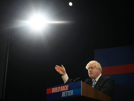 The big problem with Boris Johnson's Conservative Party conference speech