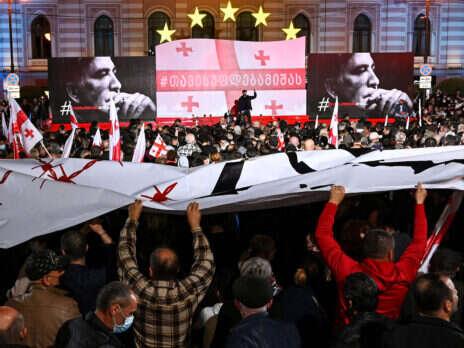 Mikheil Saakashvili's return from Ukraine convulses Georgia's fragile democracy