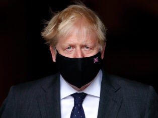 Will Boris Johnson wear a mask on Budget day?