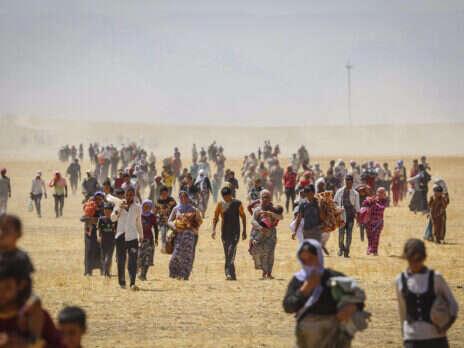 Massacred by Islamic State, Yazidis now face Turkish airstrikes