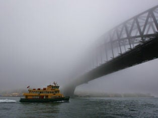 Thomas Keneally on climate loss: Midwinter Sydney days reach 24°C, and I dream of glacial mornings