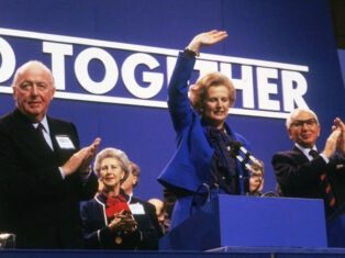 From the NS archive: Violence at the Tory conference