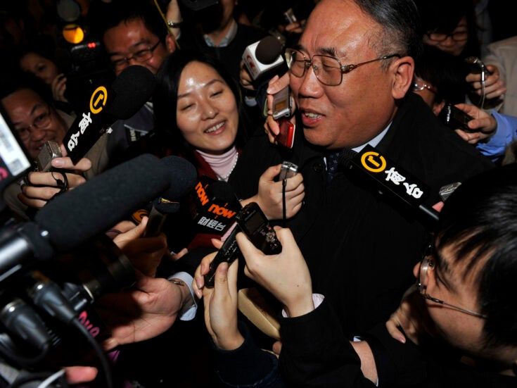 Photo of Xie Zhenhua: can China's climate envoy make a difference at Cop26?