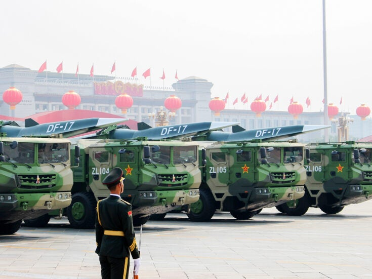 Photo of What the race for hypersonic technology says about the US-China arms rivalry